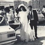 Ο Νικόλας Ζαχαρίου με τη κόρη του Άννα,νύφη