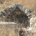 Ερείπια από το φουρνί, από αυτό το κτίσμα πήρε το όνομα του το τοπωνύμιο «Το Φουρνί»